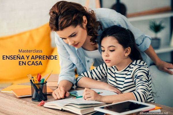 Escuela en casa - enseña y aprende masterclass