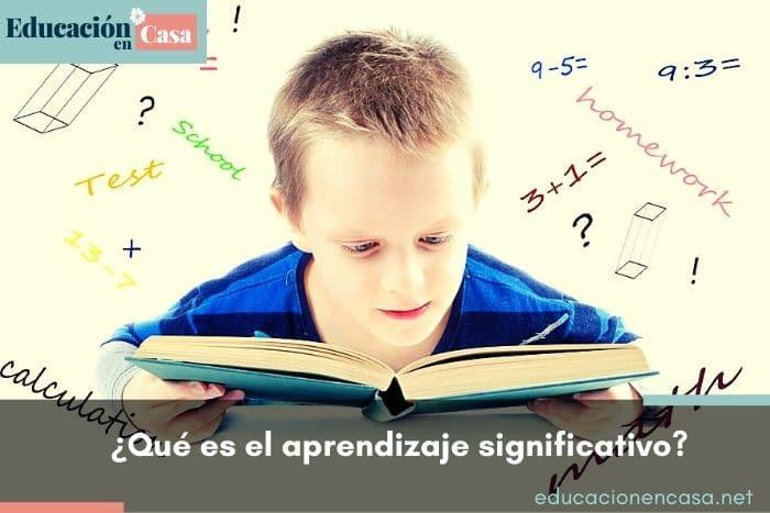 aprendizaje significativo