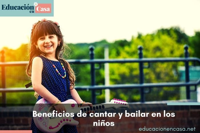 beneficios de cantar y bailar en los niños