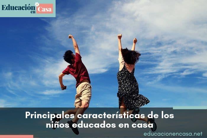 Principales características de los niños educados en casa