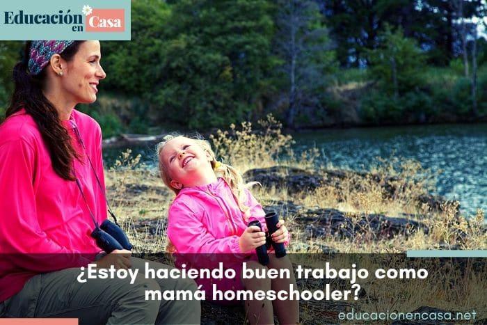¿Cómo sé si estoy haciendo un buen trabajo como mamá homeschooler?