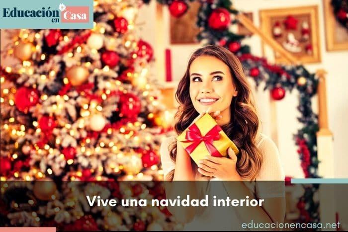 Vive una navidad interior