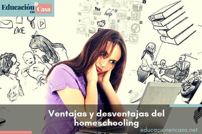Ventajas y desventajas del homeschooling o educación en casa